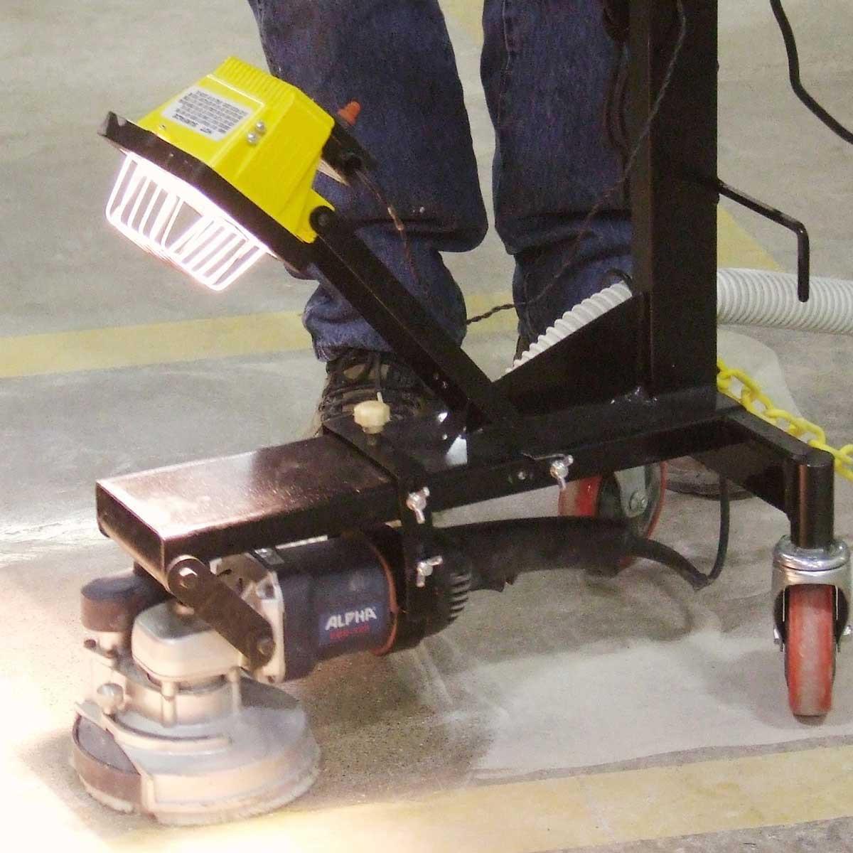 Alpha Ecogrinder concrete grinding
