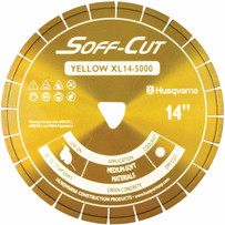 Soff-Cut 5 inch Excel 5000 X50 Yellow Early Entry Blade