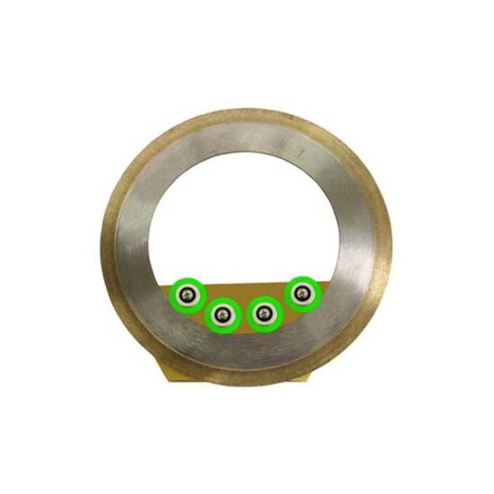 gemini apollo 6in fine ridgid ring blade cartridge