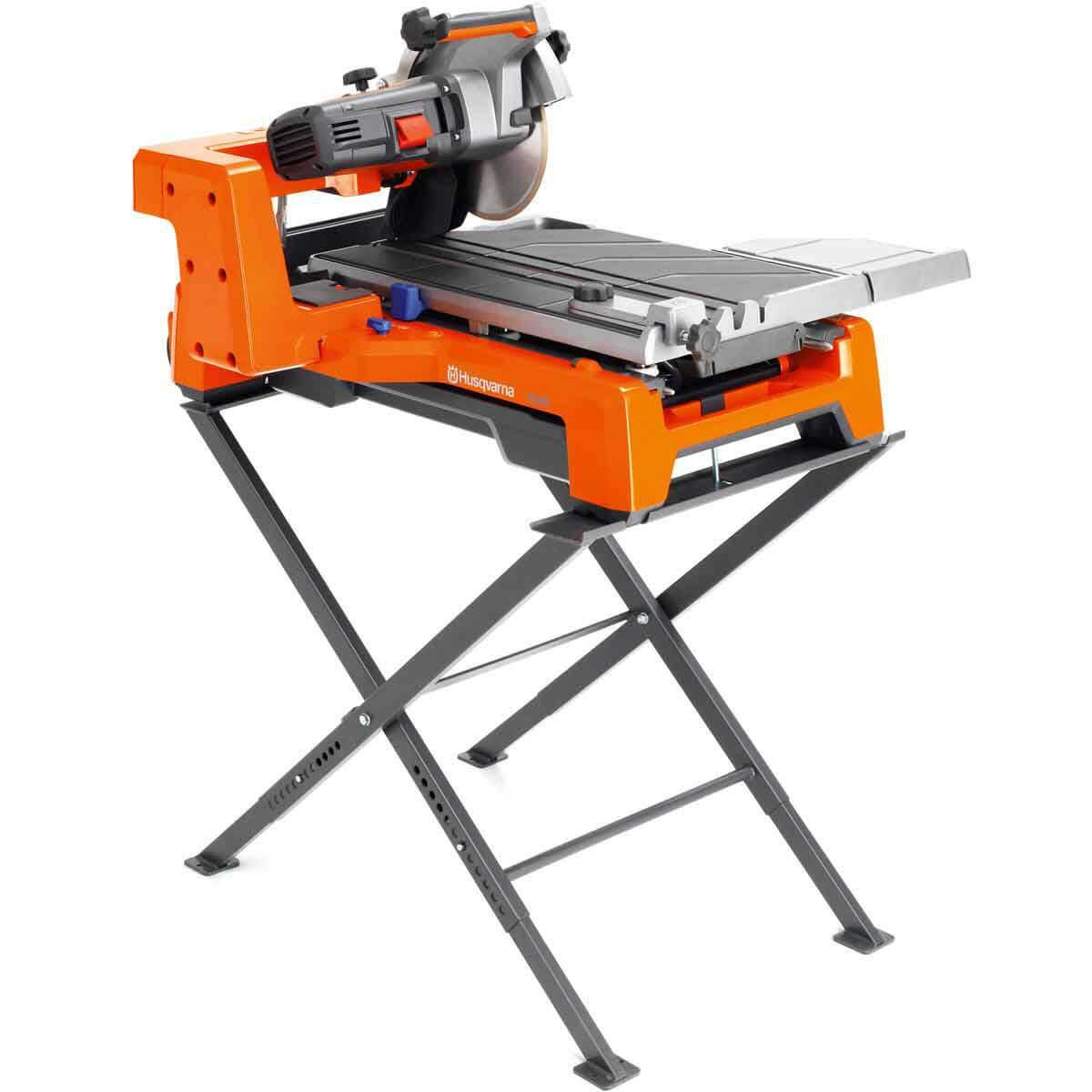 Husqvarna TS60 Tile Saw and Stand
