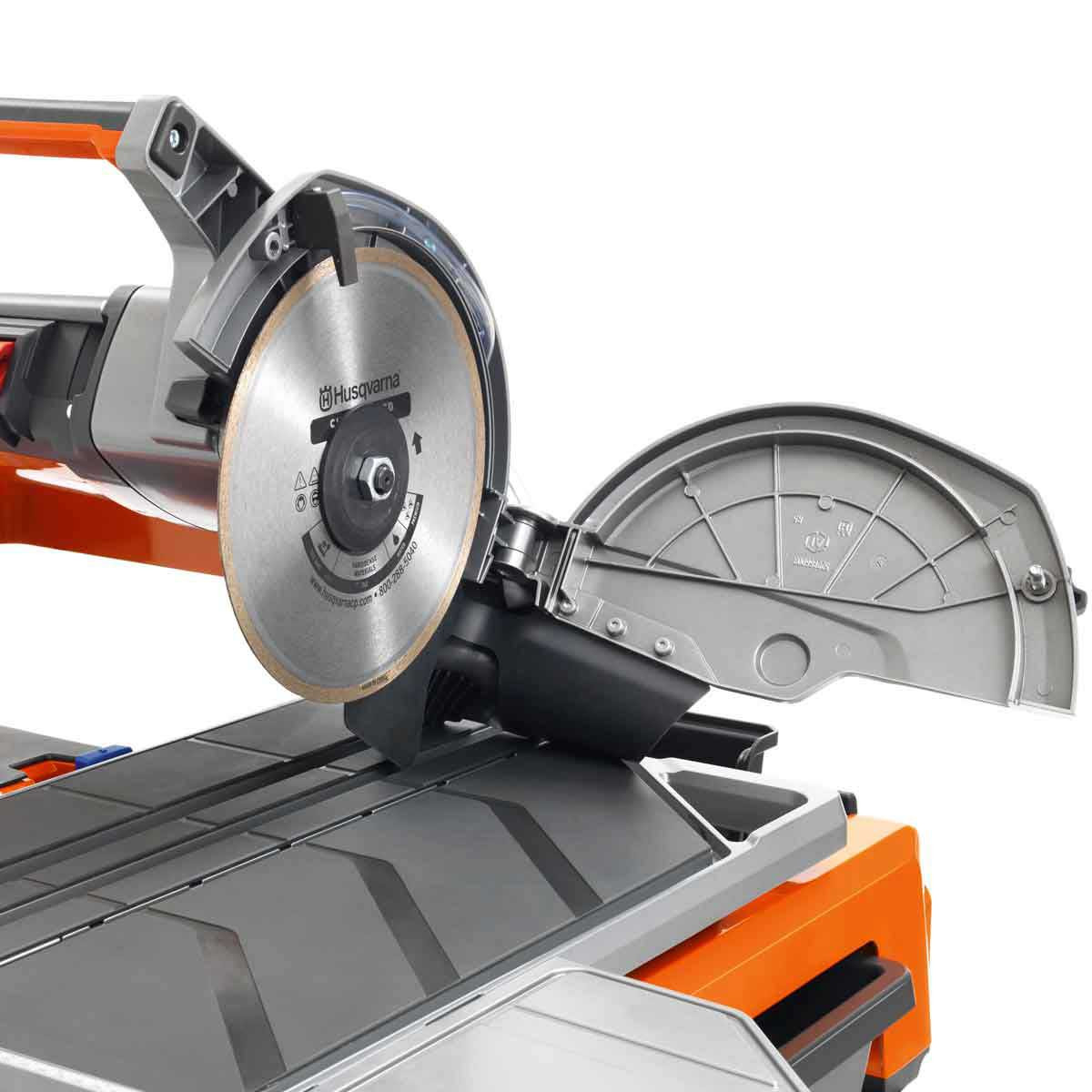 Husqvarna tile saw easy blade replacement