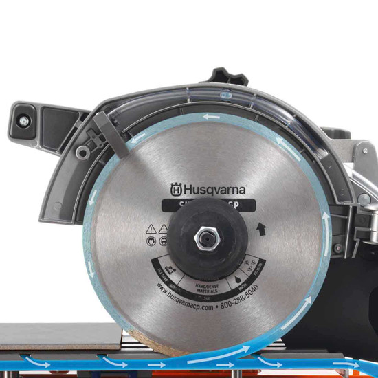 Husqvarna TS60 Tile Saw Water Flow