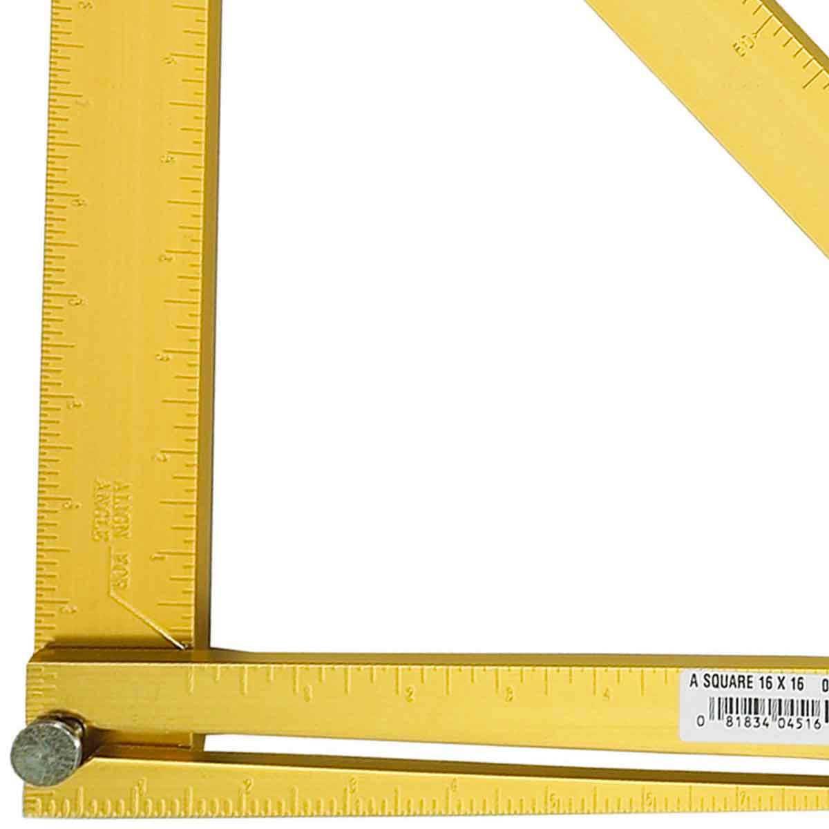 heavy duty aluminum layout square
