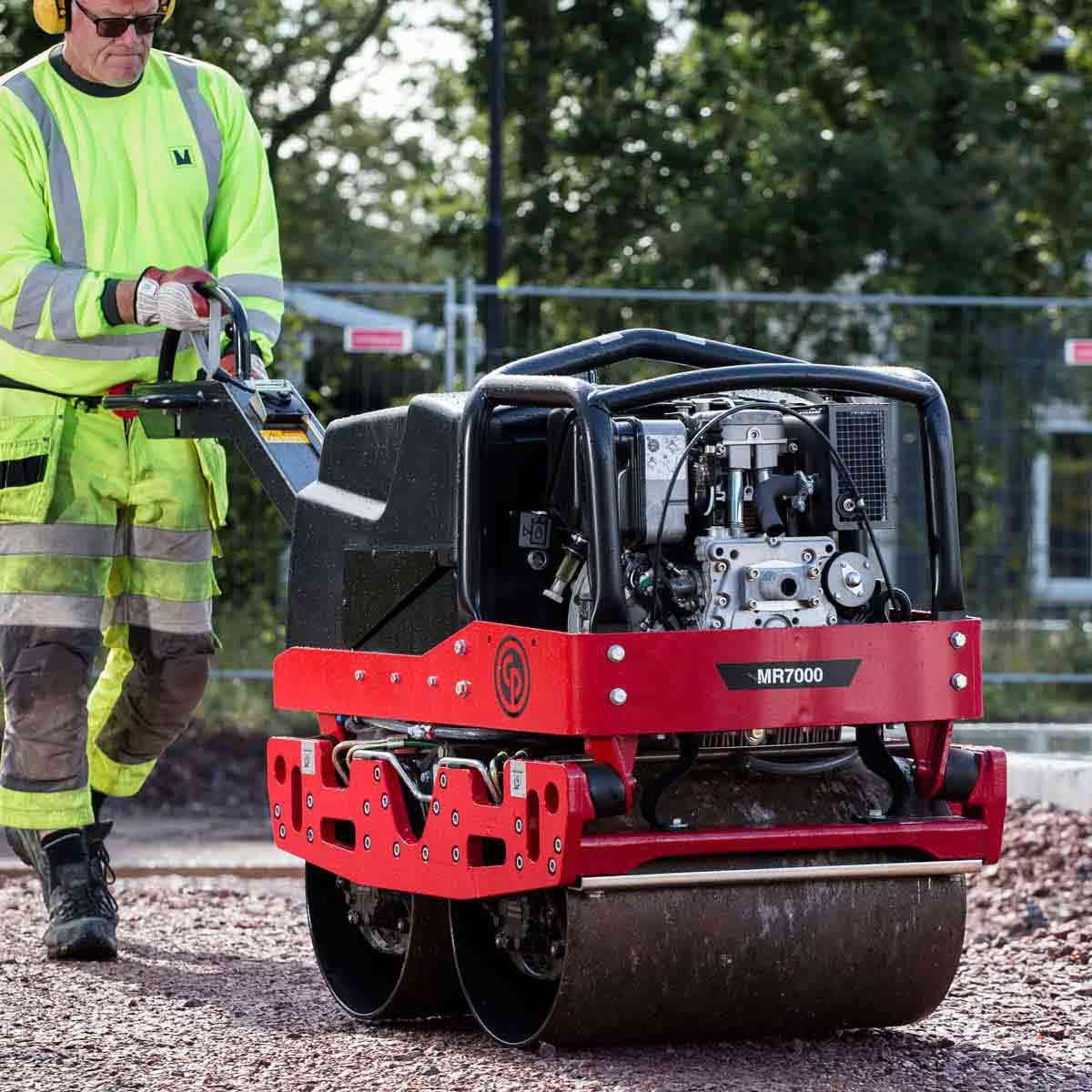 CP Diesel roller Hatz compaction