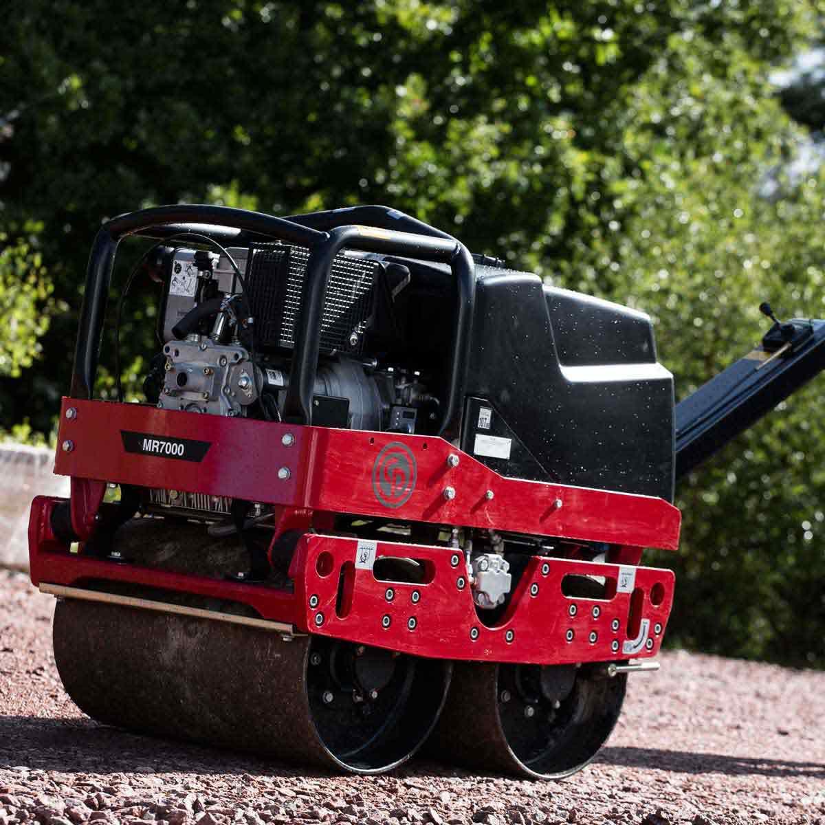 CP Diesel roller electric start