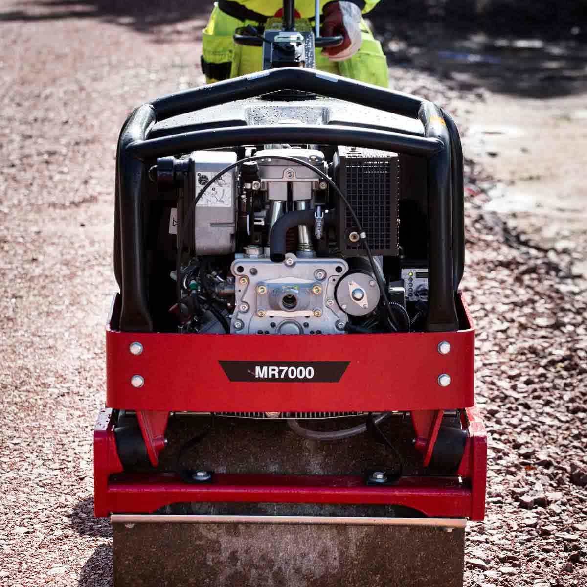 CP Diesel roller Hatz gravel