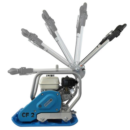 Weber CF2 Plate Compactor Adjustable Handles