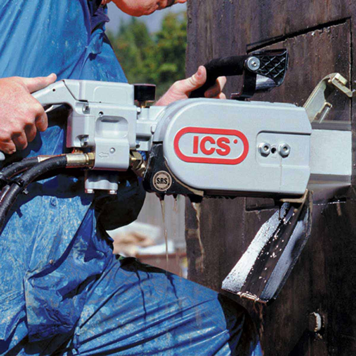 ICS Chain saw concrete cutting