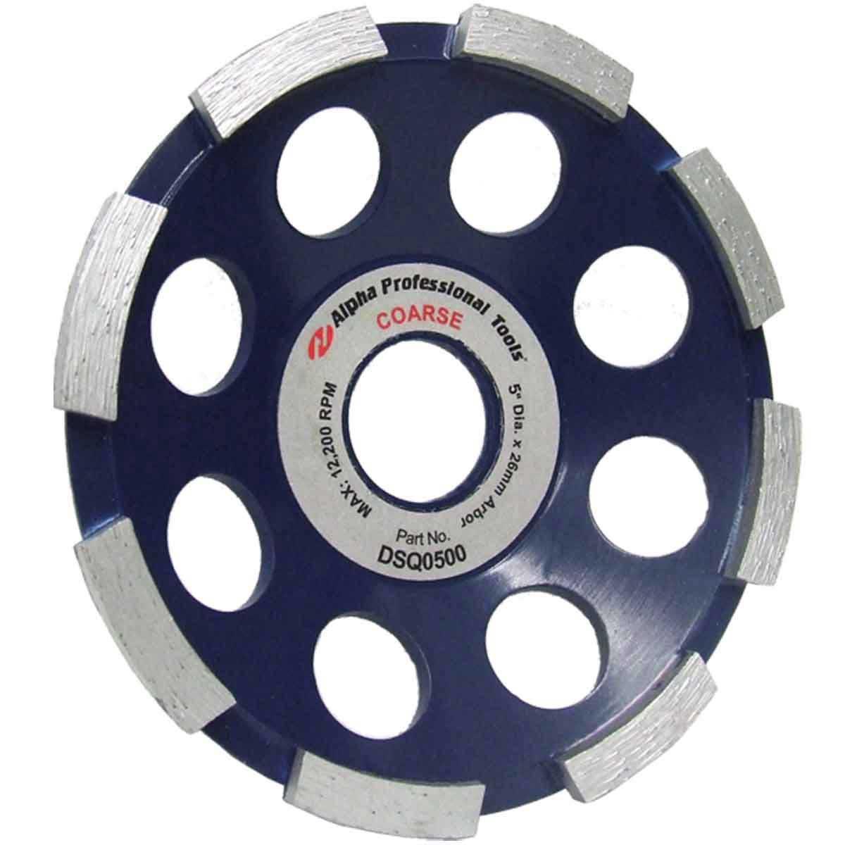 Alpha 5 inch Segmented Grinding Wheel