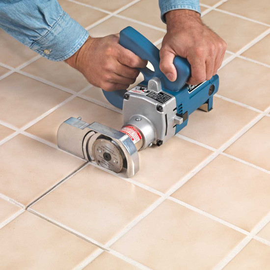 775 toe kick saw cutting grout Cuts flush to the wall and to a maximum depth of 3/4 in. for easy removal of underlayment