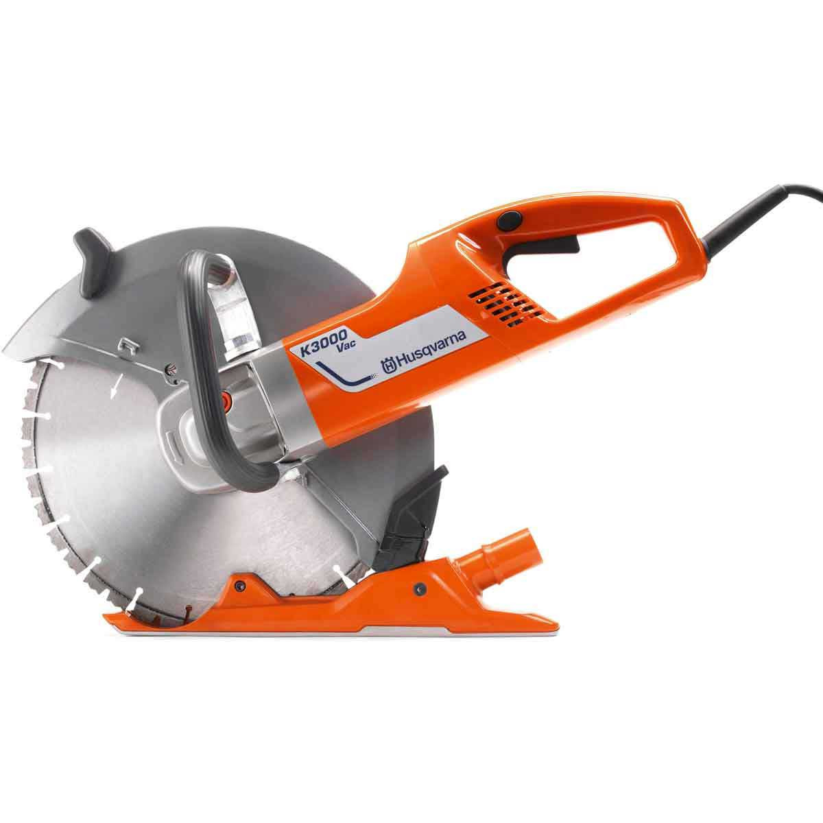 Wall Electric Masonry Saw : Husqvarna k vac concrete saw contractors direct