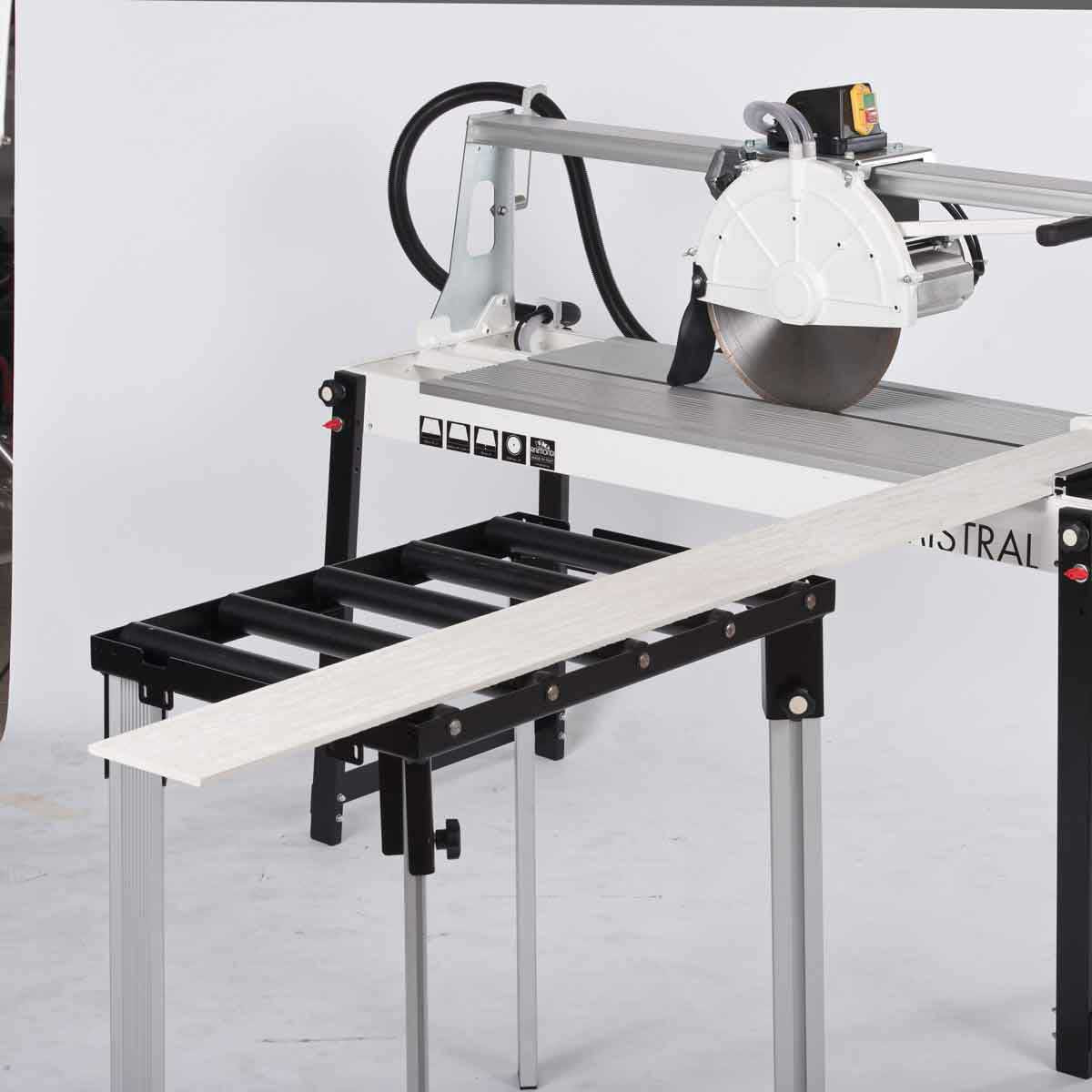 Raimondi Table Extension on Mistral Rail Saw