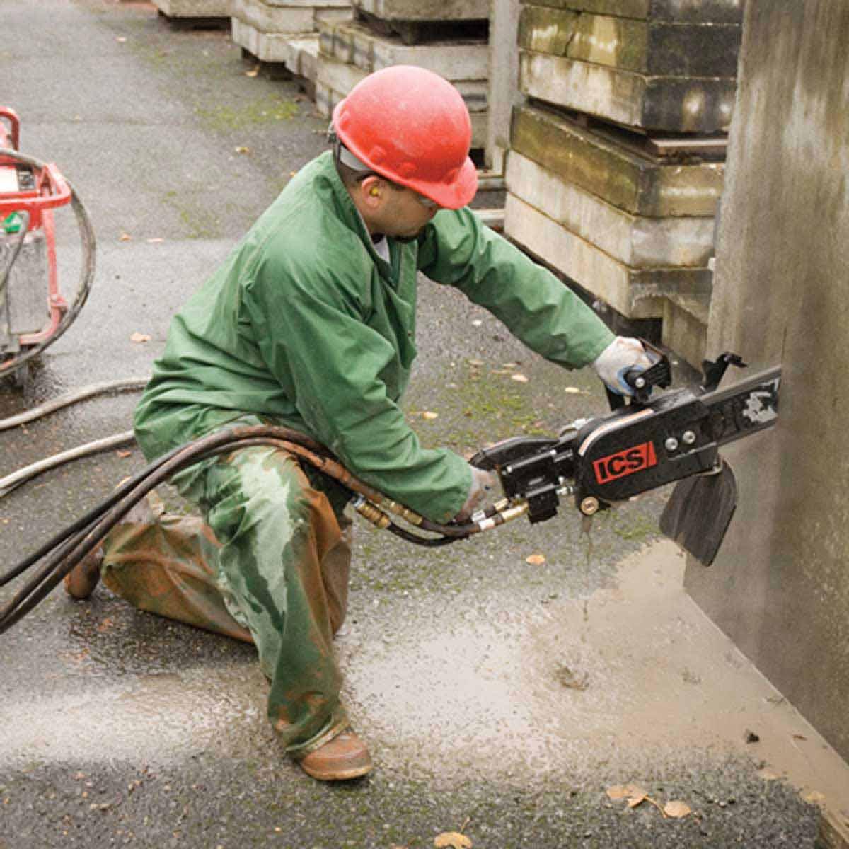 ICS 890F4 Hydraulic Concrete saw