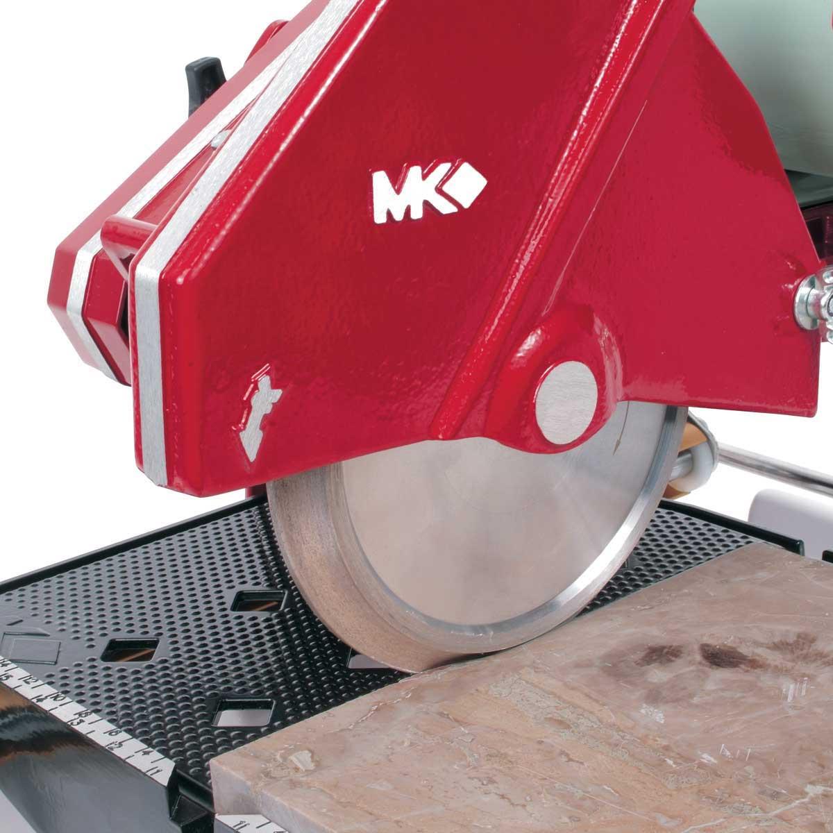 MK 101-24 tile saw with marble diamond profiling wheel