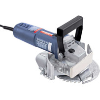 Crain 575 Multi-Undercut Saw undercuts along walls, door jambs, under toe spaces, and will also fully undercut inside corners