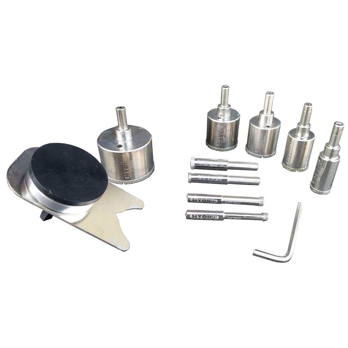drill bit set components