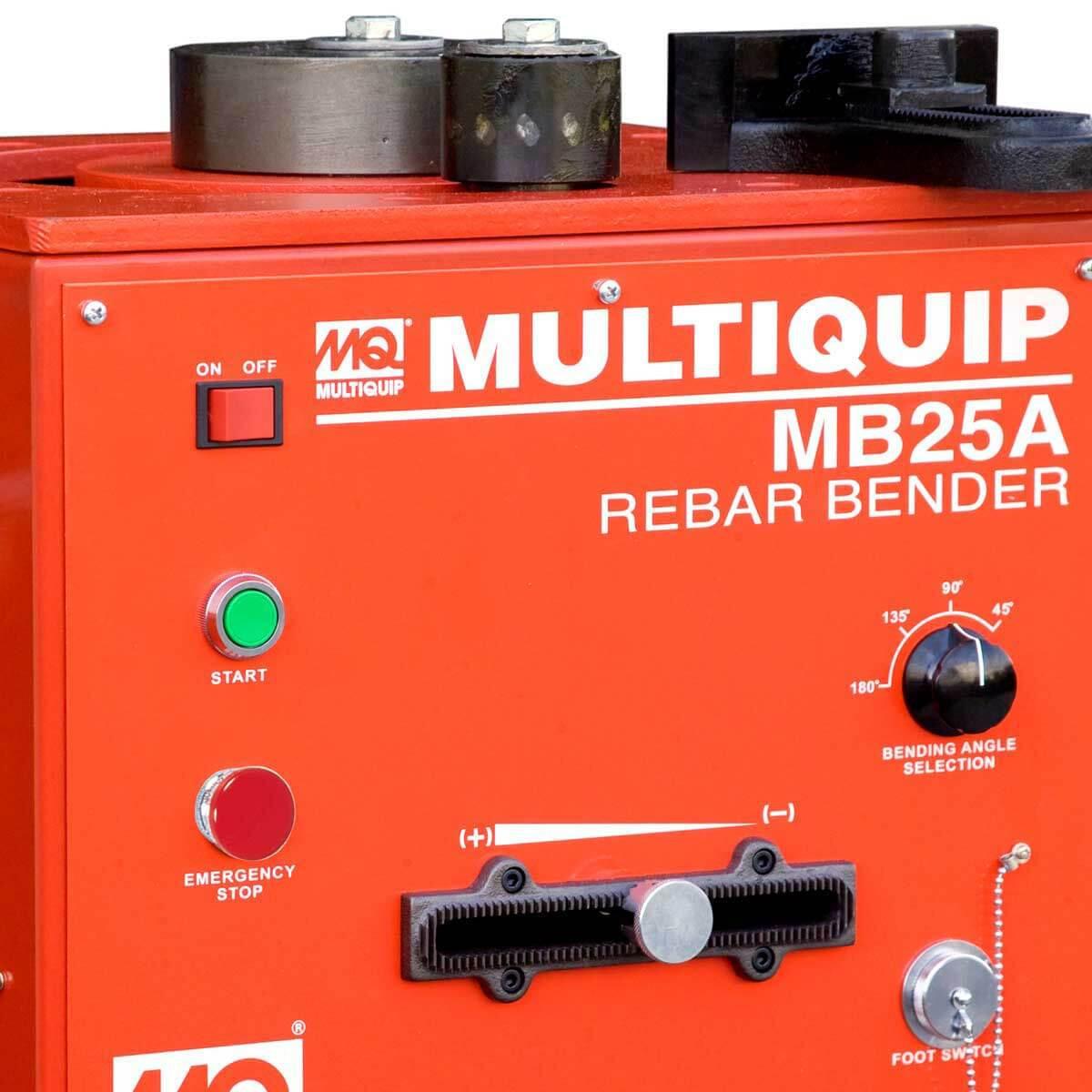 MB25A Multiquip Portable Rebar Bender