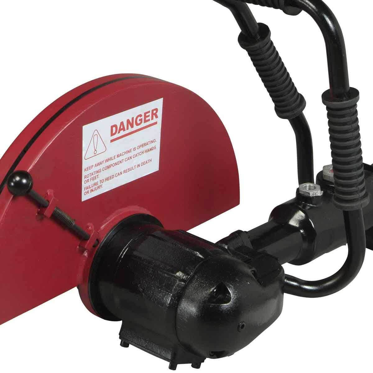 Chicago Pneumatic Air cut off saw