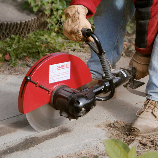 Chicago Pneumatic concrete Air saw