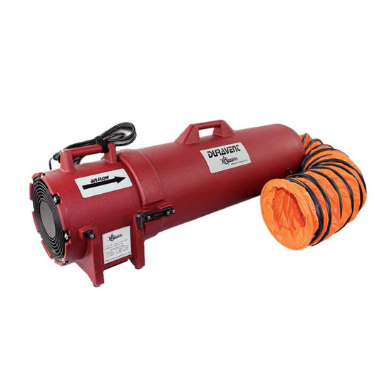 Novatek DuraVent Portable Blower Ventilator
