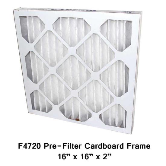 Novatek Novair 700 and 1000 Pre Filter Cardboard Frame