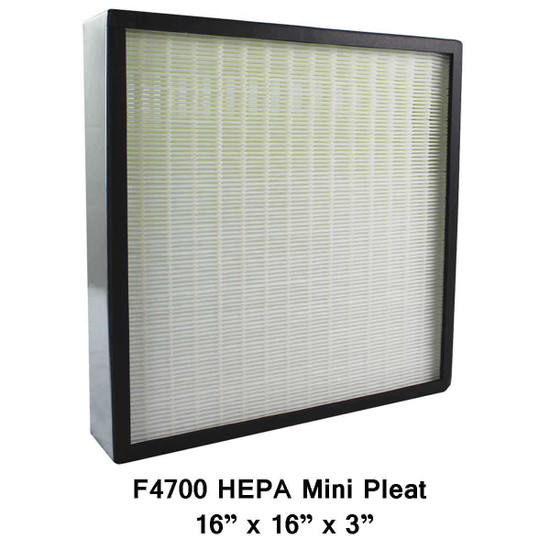 Novair 700 and 1000 HEPA Mini Pleat