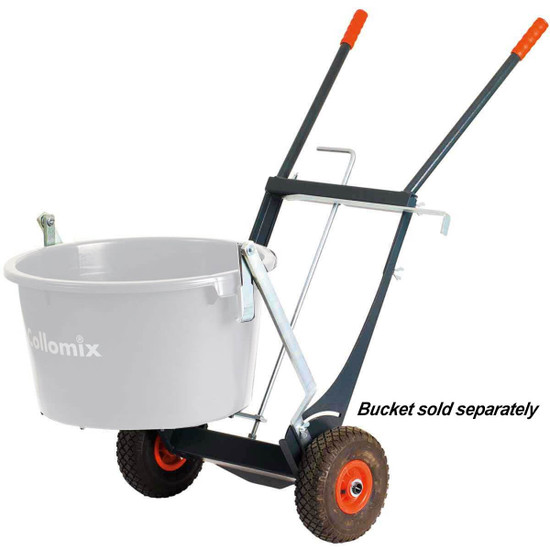 Collomix Bucket Dolly, Bucket trolley easily transports and pours 17 gal. buckets