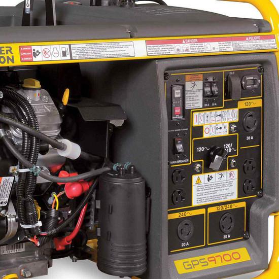 Wacker GPS9700V Generator Control Panel