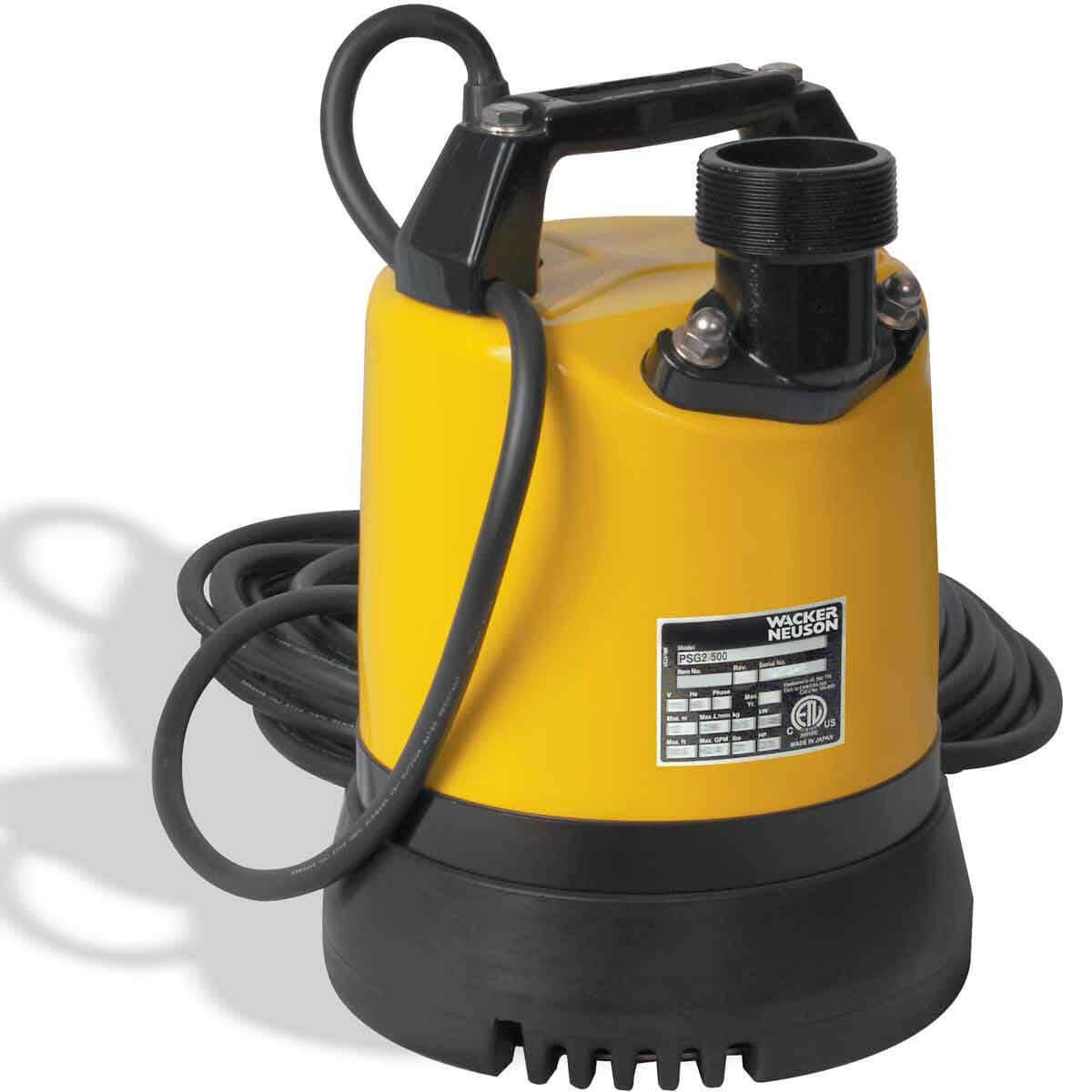 PSG2-500 2 inch Submersible Pump 110V Wacker Neuson