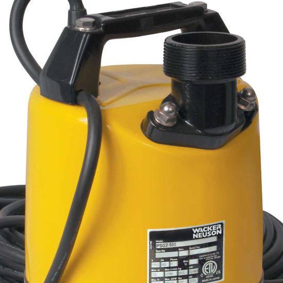Wacker PSG2-500 Pump Discharge Pump