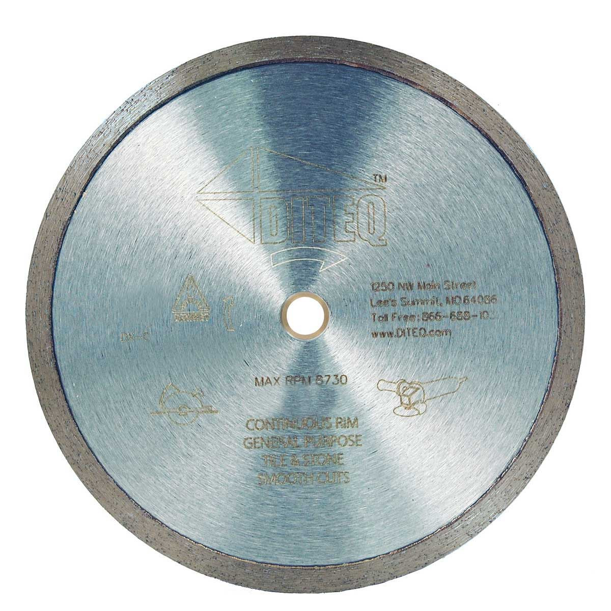 diteq 4 1/2in wet dry diamond blade