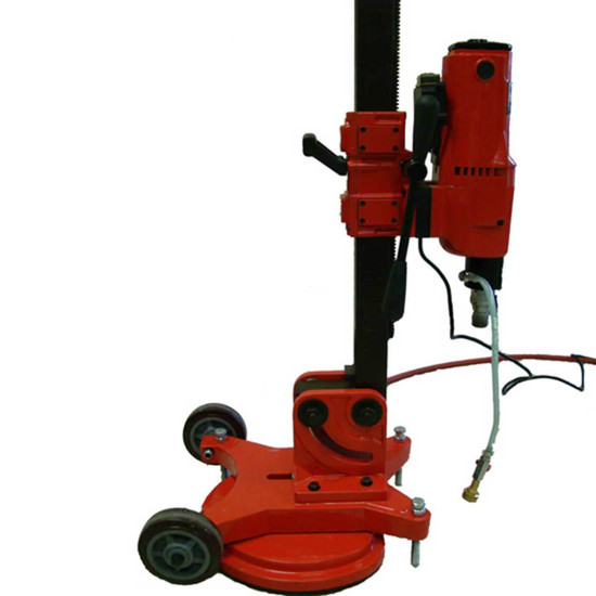 Kor-It K812 Core Drill Rig with Vacuum Stand