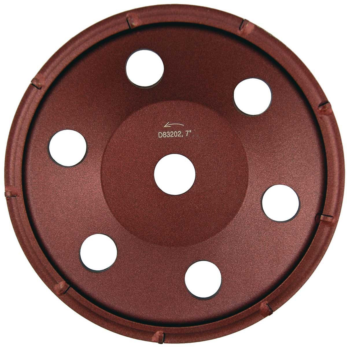 7 inch Diteq Cup Wheels Polycrystaline Diamond