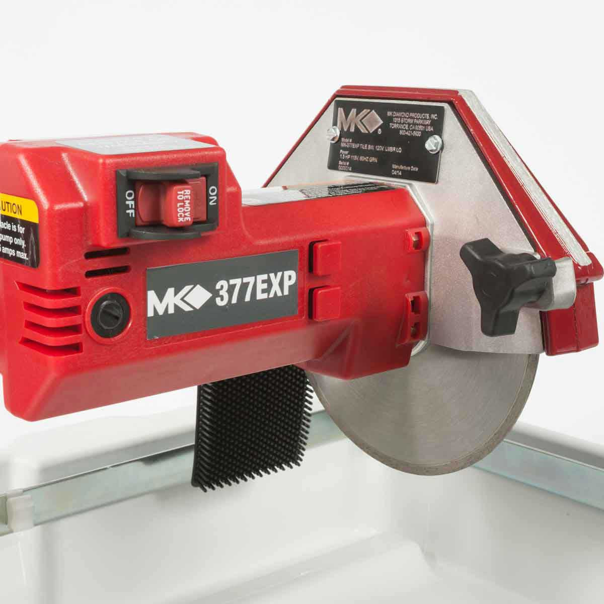 MK-377EXP 7 inch direct drive tile saw motor 2