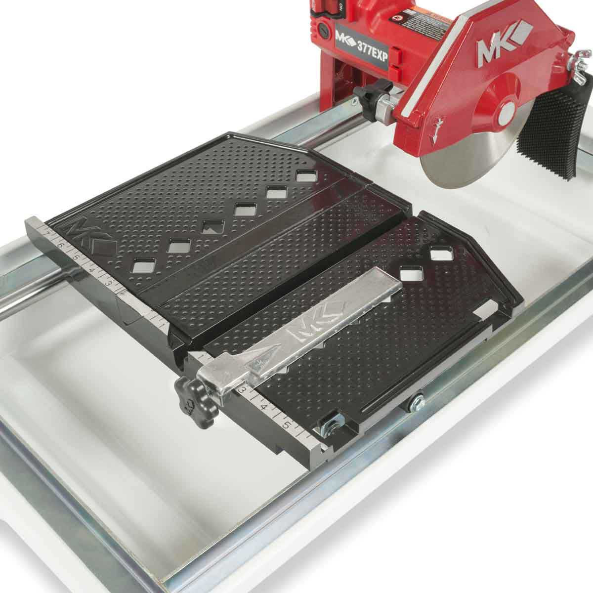 MK-377EXP Tile Saw large cutting table