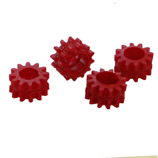 Red Gear Grommet. Sold Individually