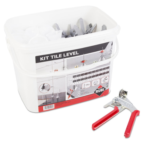 rubi ceramic tile leveling kit
