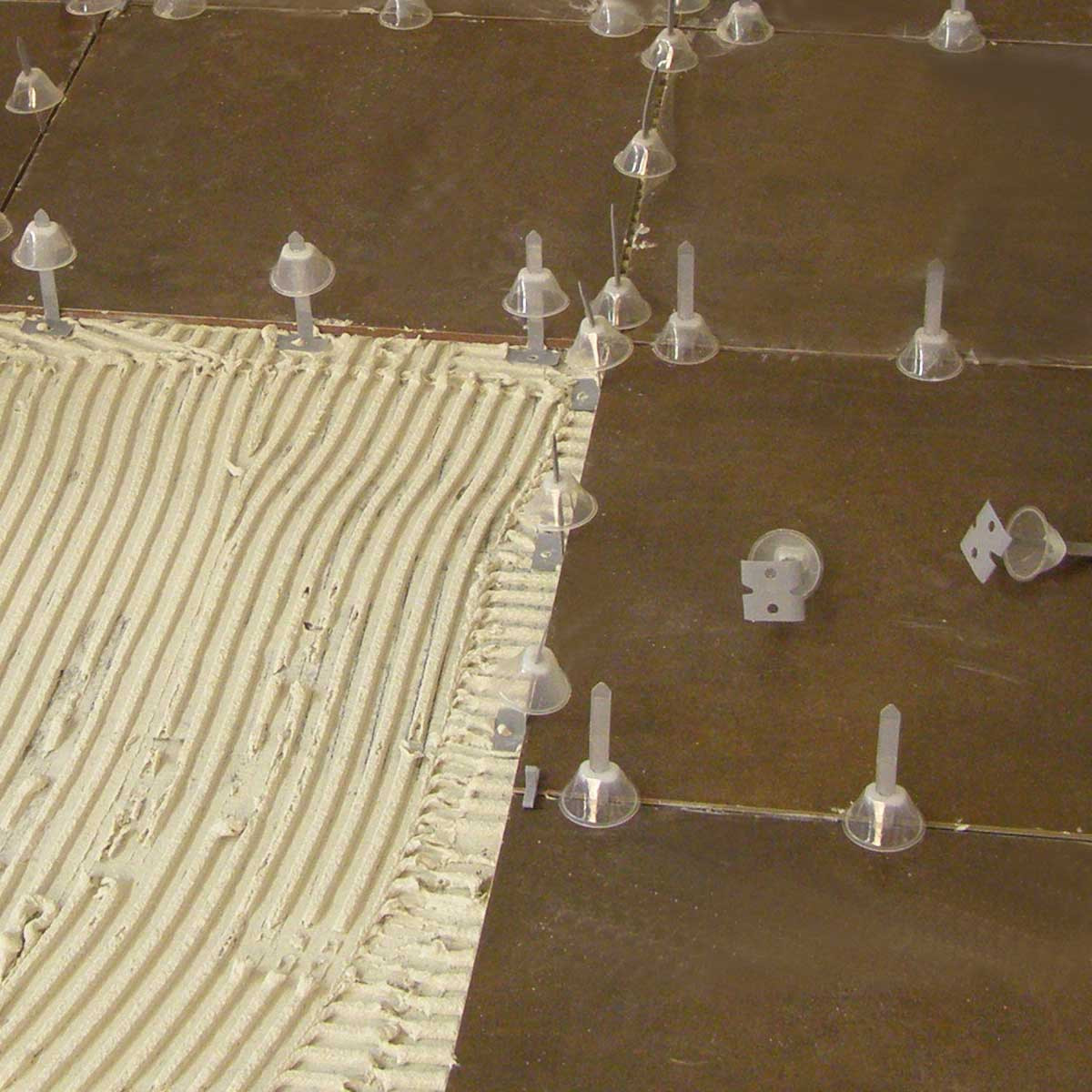 rubi leveling system floor layout