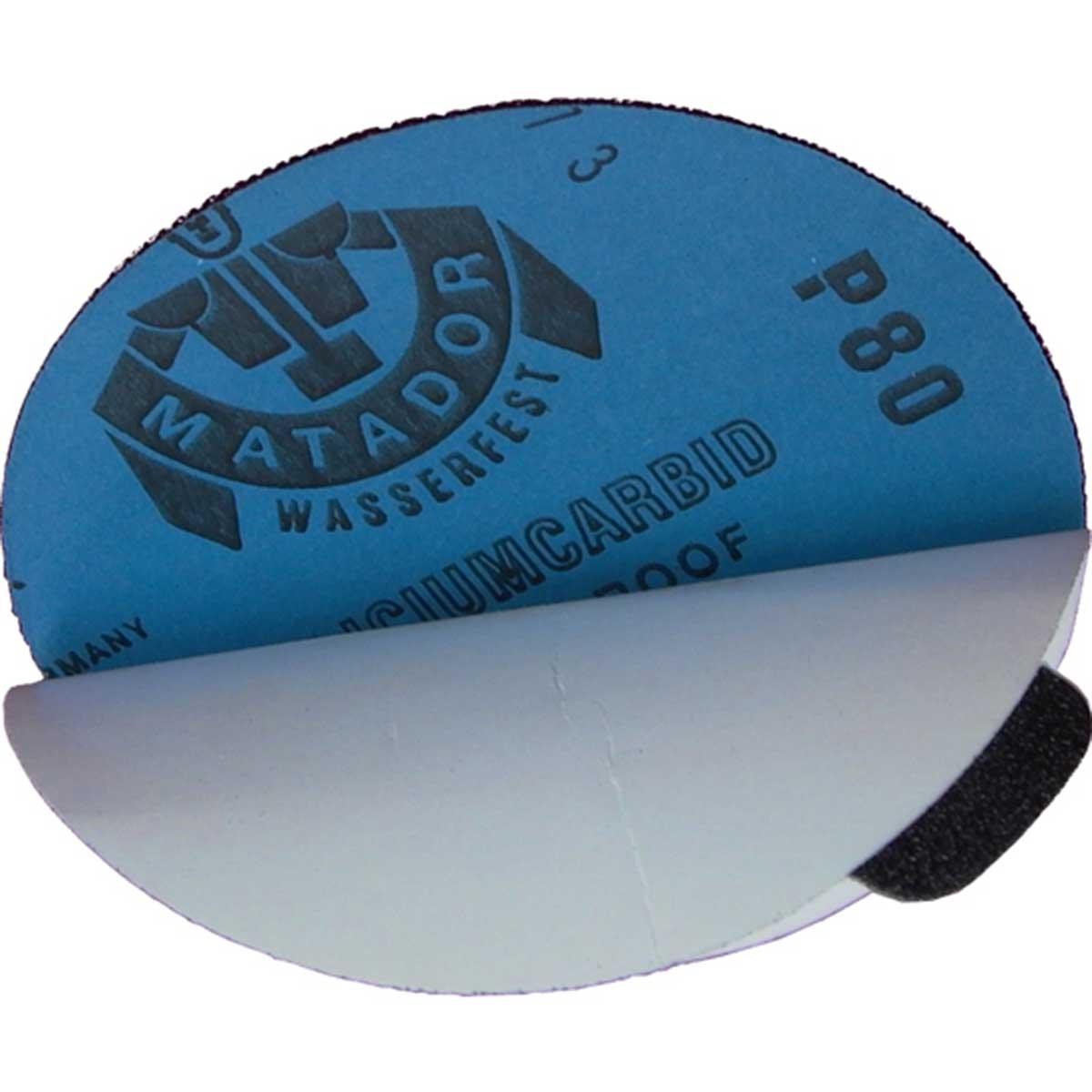 5 inch Waterproof PSA Sandpaper for Stone Polishing