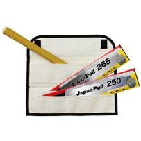 Tajima JPR-SET Japan Pull Saw Set and Blades Premium-grade thin spring steel blades for fast cross-cuts, flexes for ultra-close flush-cuts