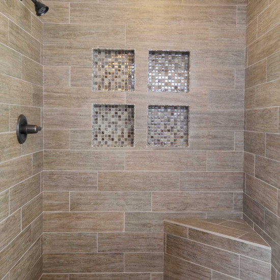Laticrete Recessed Shower Niches