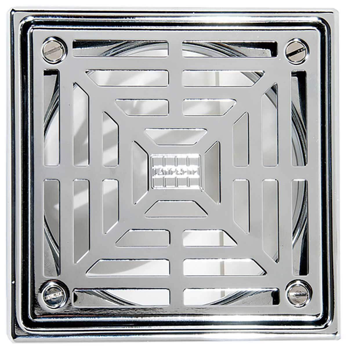 Polished Stainless Steel Hydro Ban Bonding Drain