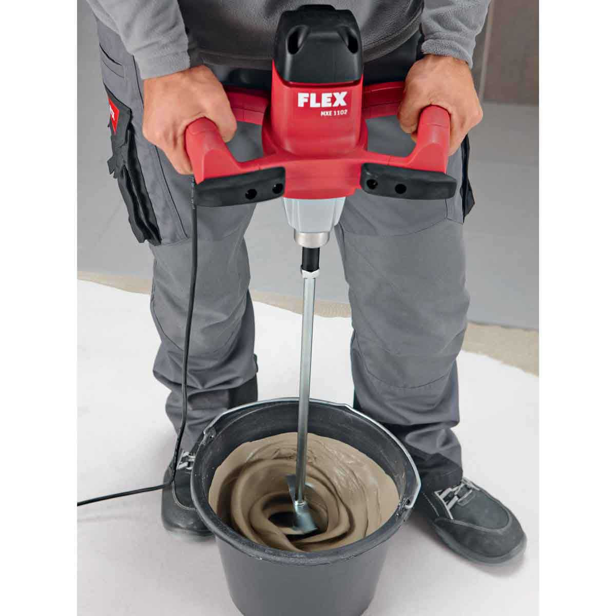 2 Speed Mixer with Helix Paddle Flex