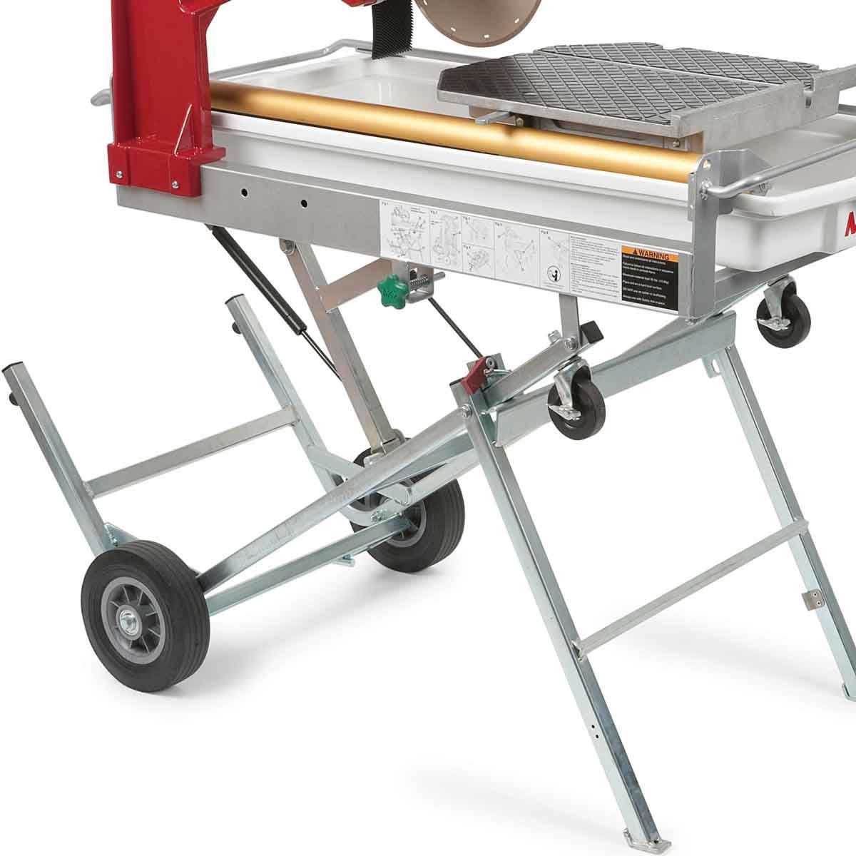 Built in Stand on MK-101 Pro24 JCS Tile Saw
