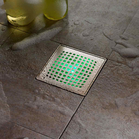 Water Activated Green LED For Aco Drain