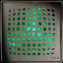 Green Quartz by Aco Shower Point Lightline