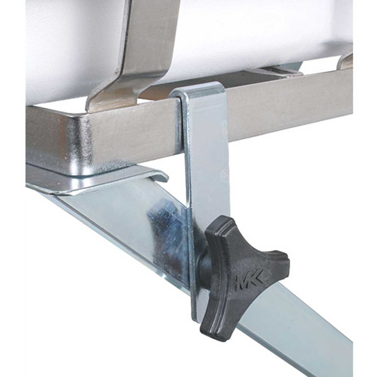 MK Tile Saw folding stand locking mechanism