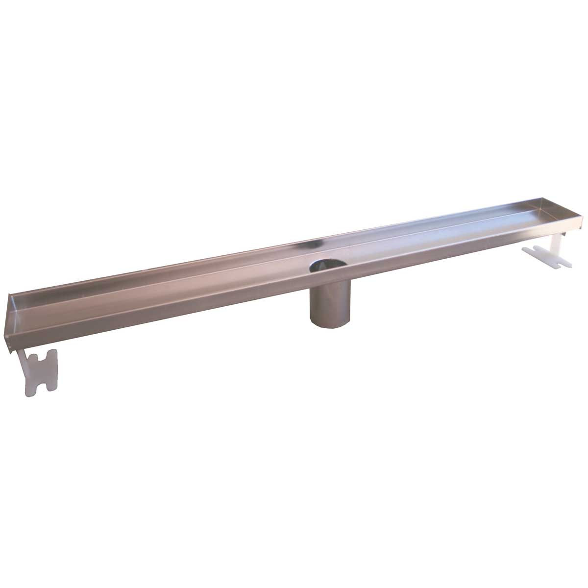 37420-93861 Linear Stainless Steel Shower Channels & Grates