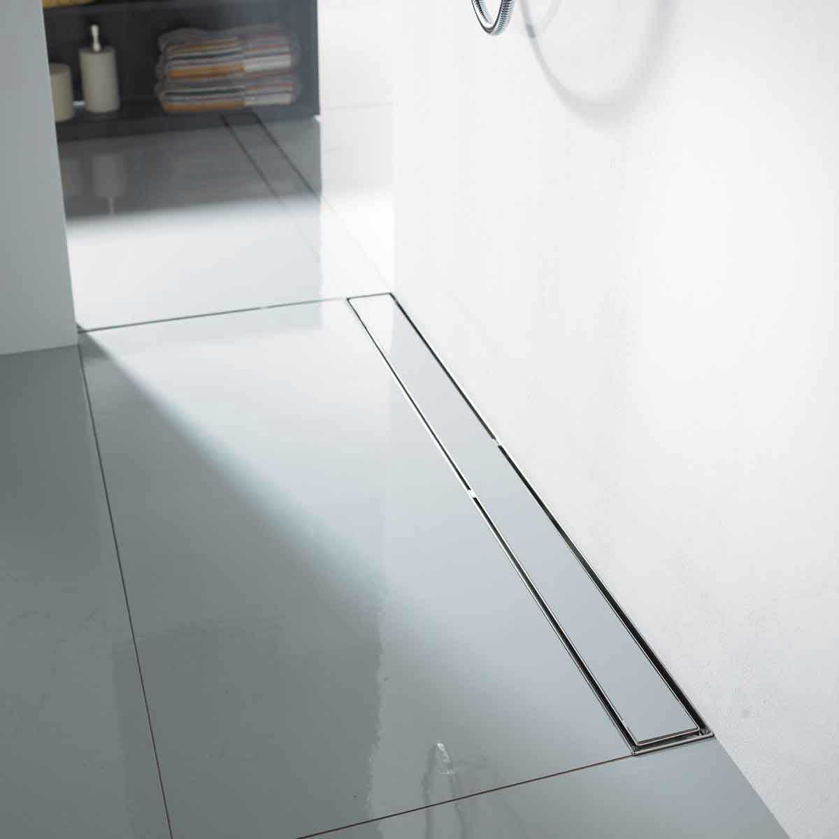 Tile in Aco Stainless Steel Shower Channels & Grates