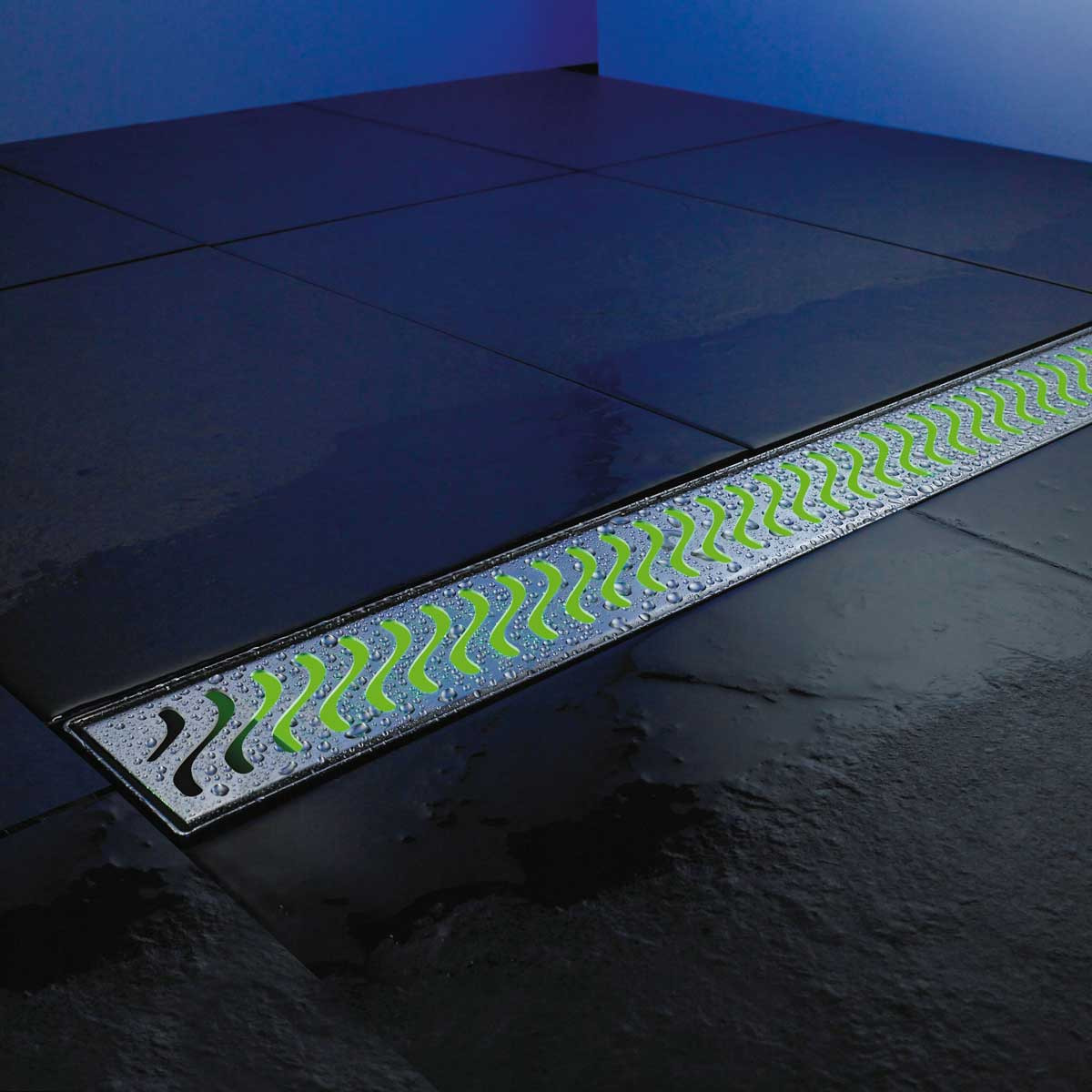 37375 Green LED Light for Aco Linear Drains